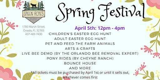 Spring Festival and Easter Egg Hunt