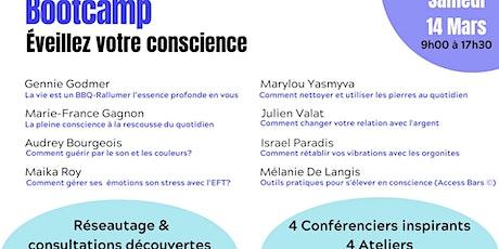 Bootcamp Éveillez votre conscience tickets