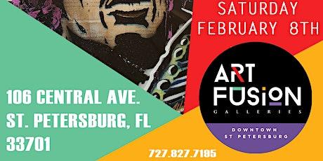Art Fusion Galleries St. Petersburg Presents Art Walk tickets