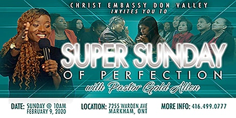 Super Sunday of Perfection tickets