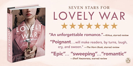 """Award winning author, Julie Berry presents """"Lovely War"""" tickets"""