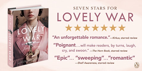"Award winning author, Julie Berry presents ""Lovely War"""