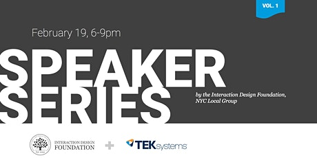 IDF/NYC — Speaker Series, Vol. 1 tickets