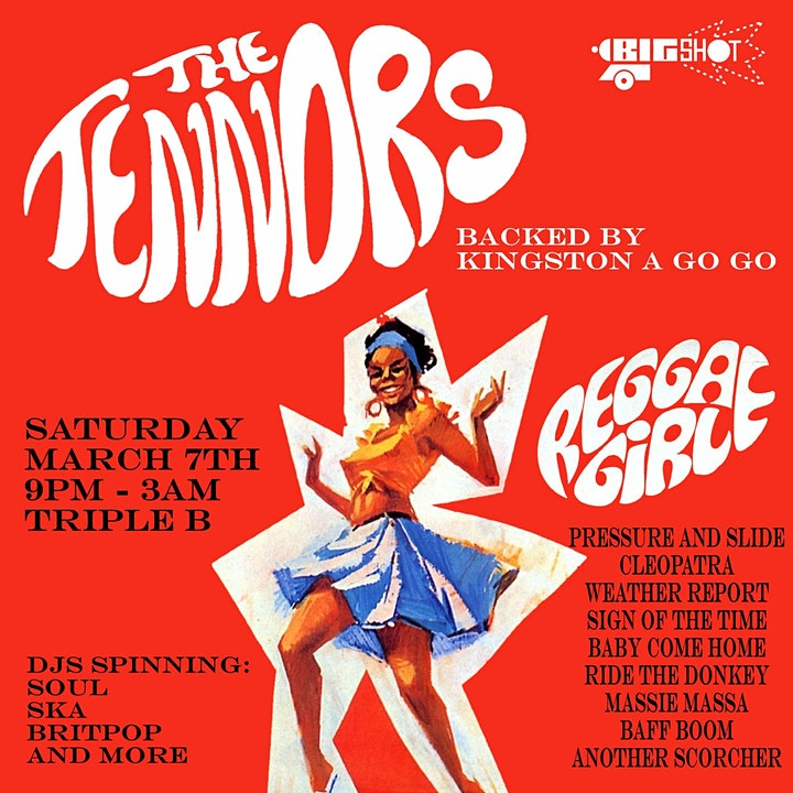 SKA: The Tennors (from Jamaica) with Kingston A Go Go - Trad ska/Rocksteady image