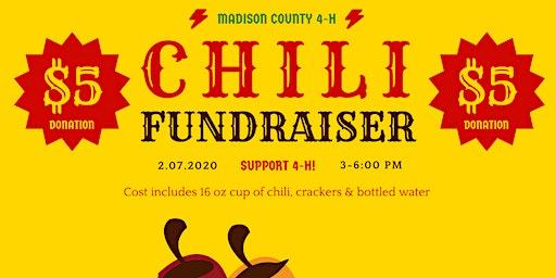 RSVP:  4-H Chili Fundraiser