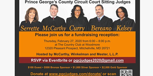 Prince George's County  Sitting Judges' Campaign Reception