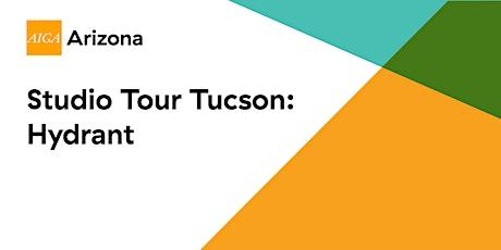 Tucson Studio Tour: Hydrant tickets