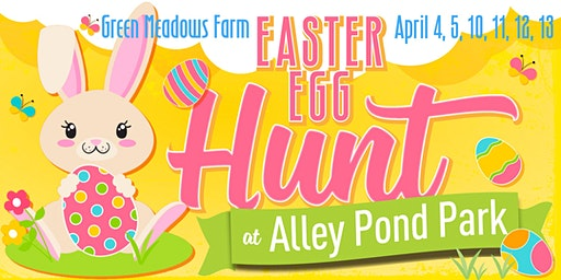 Green Meadows Farm Easter Egg Hunt 2020 at Alley Pond Park