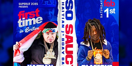 So Saucy, Blazeone & Haitian Fresh first time ever in Boston Live #haitianj tickets