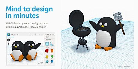 MākMō: Intro to Tinker CAD tickets