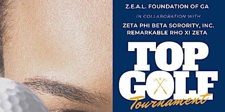 Z.E.A.L. Topgolf Tournament tickets