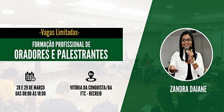 FORMAÇÃO PROFISSIONAL DE ORADORES E PALESTRANTES ingressos