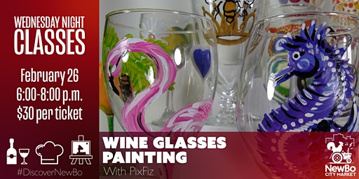 Wednesday Class: Wine Glass Painting