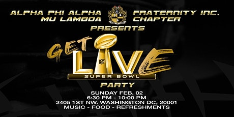 Alpha Phi Alpha Fraternity, Inc. Mu Lambda Chapter Super Bowl Party tickets