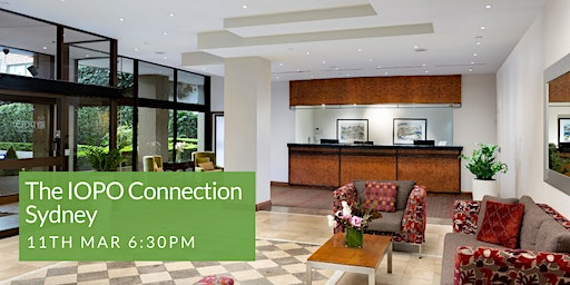 The IOPO Connection Event - Sydney