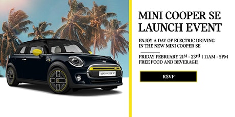MINI Cooper SE Launch Event at MINI of Universal City tickets