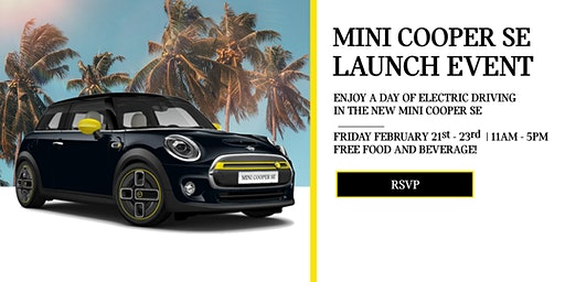 MINI Cooper SE Launch Event at MINI of Universal City