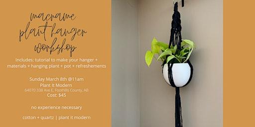 Macrame Plant Hanger Workshop (sold out)