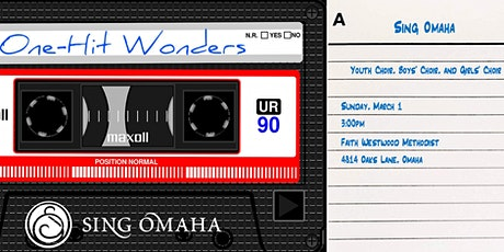 """Sing Omaha Youth, Girls', and Boys' Choirs present """"One Hit Wonders"""" tickets"""