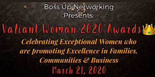 Valiant Women Awards 2020