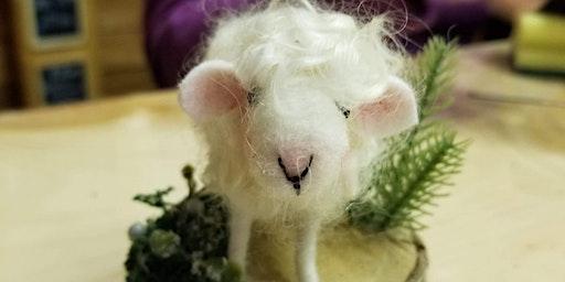 Beginner Needle Felted Lamb Armature