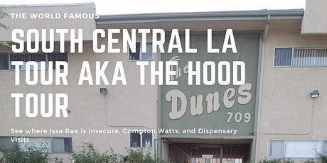 South Central LA Tour + Dispensary tickets