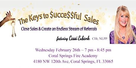 The Keys to $ucce$$ful Sales Talk tickets