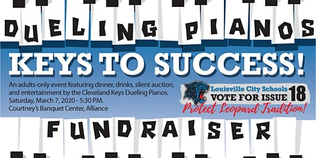 Dueling Pianos Keys to Success Fundraiser tickets