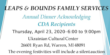 Leaps & Bounds 2020 Annual Dinner tickets