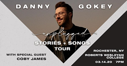 Danny Gokey - Unplugged | Rochester, NY tickets