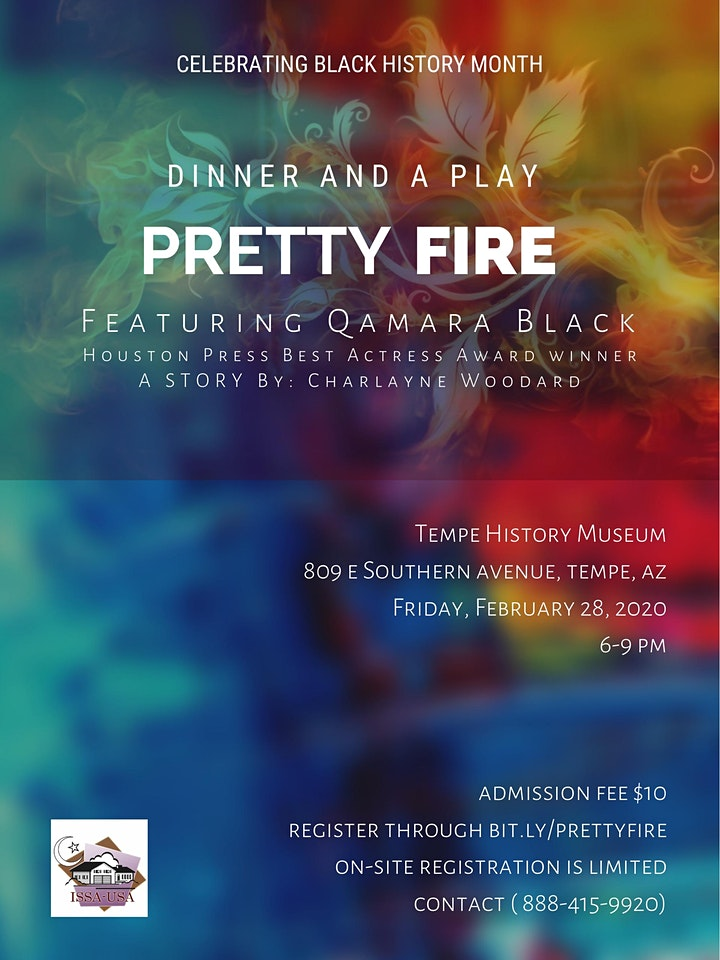 Dinner & A Play: PRETTY FIRE [TICKETS SOLD OUT, contact 480-233-6547] image