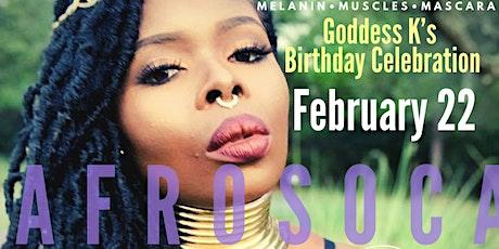 AFROSOCA FUSION w/ Goddess K | Birthday Celebration! tickets
