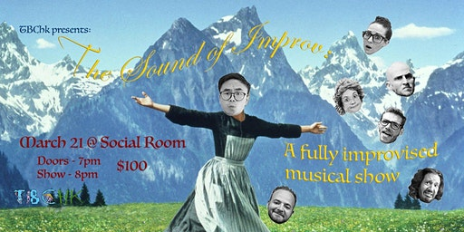 TBC HK Presents:  The Sound of Improv