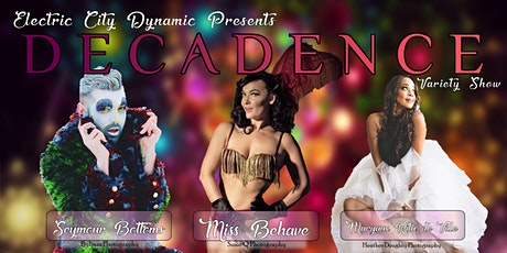 Decadence tickets
