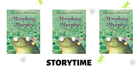 Morphing Murphy Storytime with Robert Favretto tickets