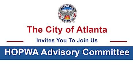 City of Atlanta HOPWA Advisory Committee tickets