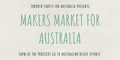 Makers Market for Australia tickets