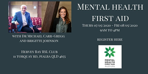 Mental Health First Aid Hervey Bay