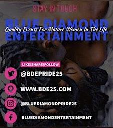 BLUE DIAMOND ENTERTAINMENT | PRIDE25+| TEAM GIRL WORLD | THE PARTY PROFESSIONAL | ATL SOCIALITES logo