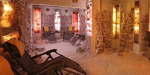 Himalayan Salt Cave Meditation & Healing Sound Bath w/Matthew Kocel