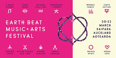 Earth Beat Music + Arts Festival 2020 tickets