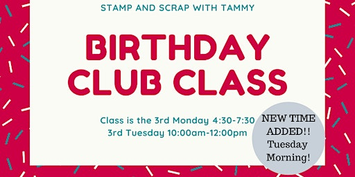 Birthday Club Class