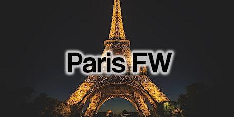 Paris Fashion Week Fashion Shows & Events February 2020 billets