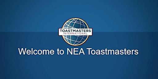 NEA Toastmasters Open House