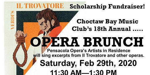 Opera Brunch Scholarship Fundraiser