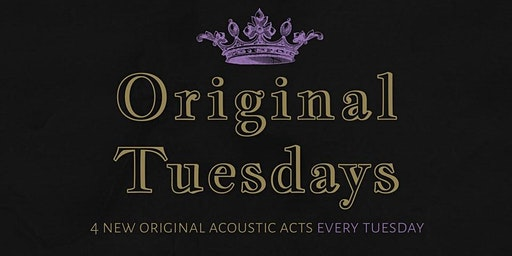 Tues Jan 28th Original Tuesdays at The Scottish Prince!