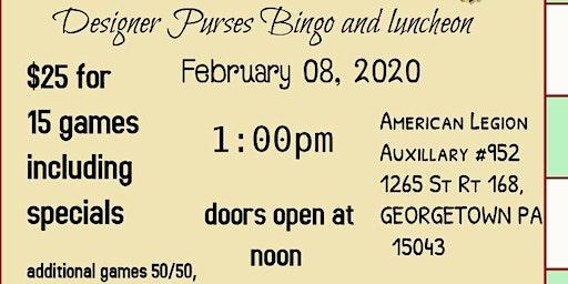 2020 Designer Purse Bingo