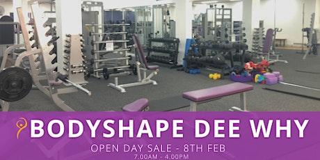 Body Shape Dee Why - OPEN DAY SALE - MASSIVE MEMBERSHIP SALES tickets