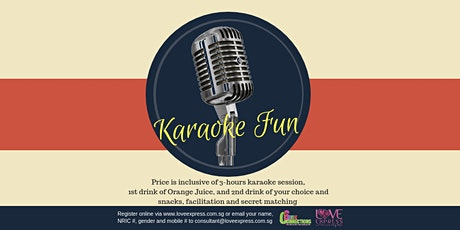 29 MAR: (50% OFF) KARAOKE FUN tickets