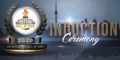 2020 Ontario Boxing Hall of Fame Induction tickets
